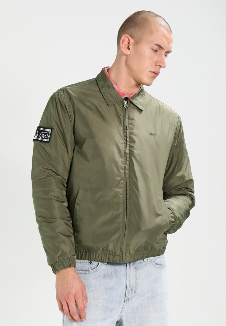 Obey Clothing - MISSION - Giubbotto Bomber - dusty army
