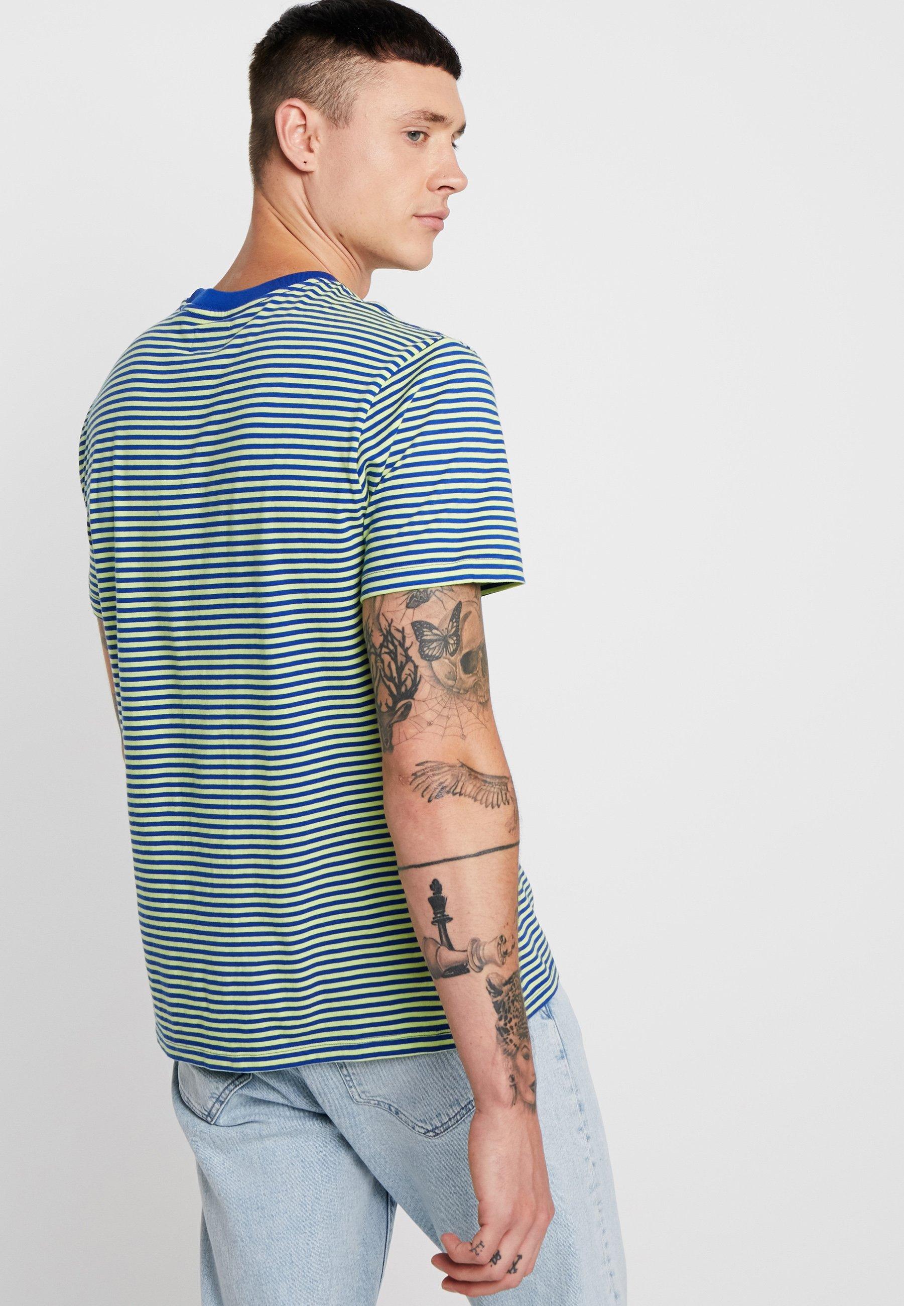 Apex multi Clothing Imprimé Blue Obey Surf shirt TeeT KcJlF1