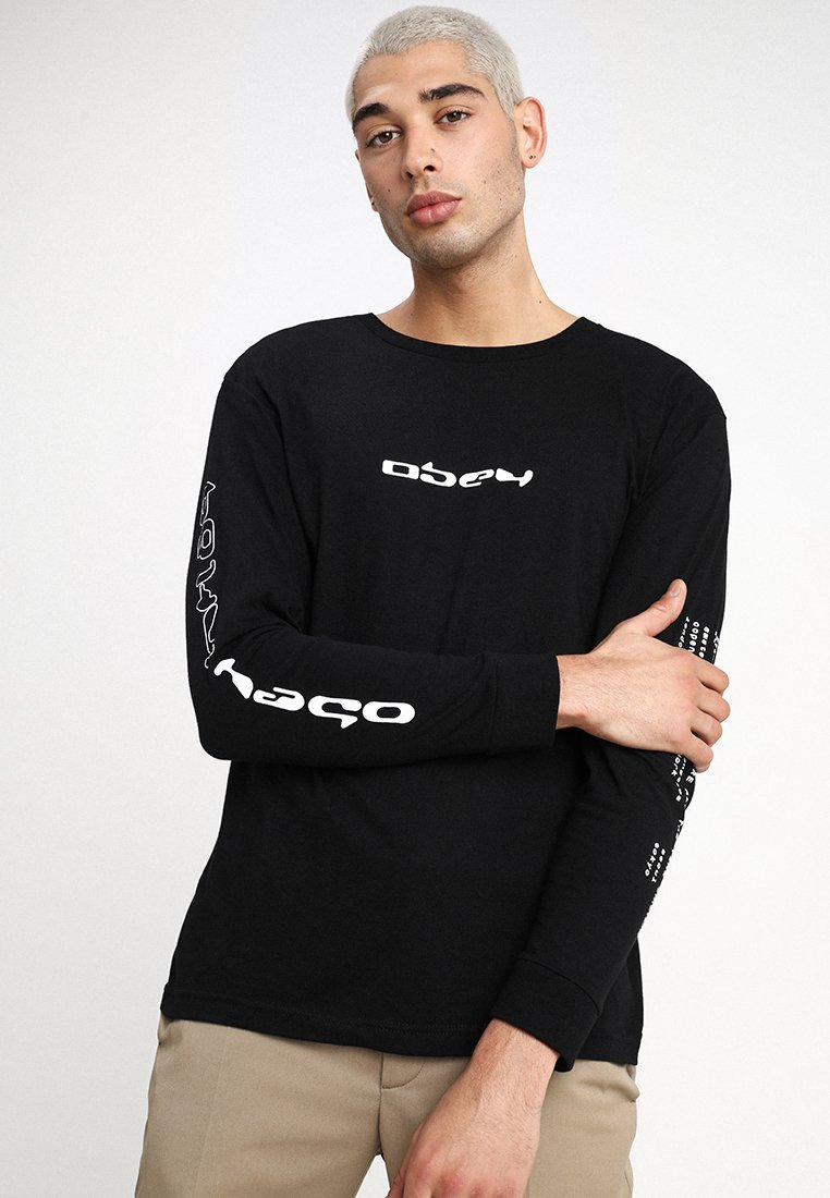 Obey Clothing - COMPUTER CONTROLLED - Longsleeve - black
