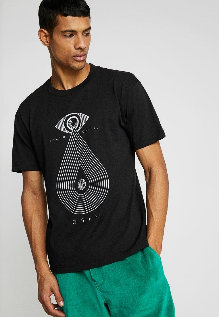 Obey Clothing - EARTH CRISIS - T-Shirt print - black