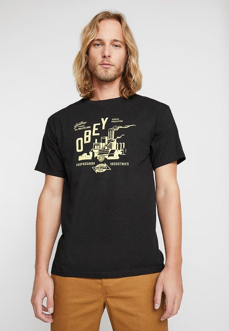 Obey Clothing - WASTELAND - T-Shirt print - black