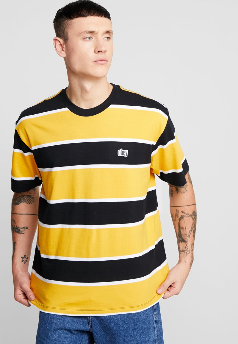 Obey Clothing - ACID CLASSIC TEE - T-shirt con stampa - black multi