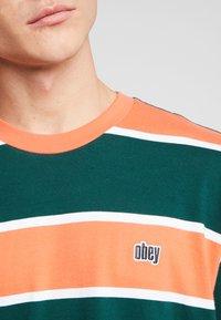 Obey Clothing - ACID CLASSIC TEE - T-shirt print - ember multi - 5