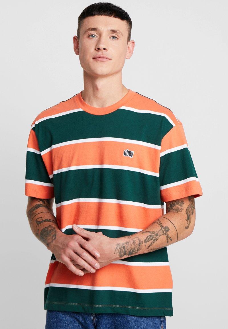 Obey Clothing - ACID CLASSIC TEE - T-Shirt print - ember multi