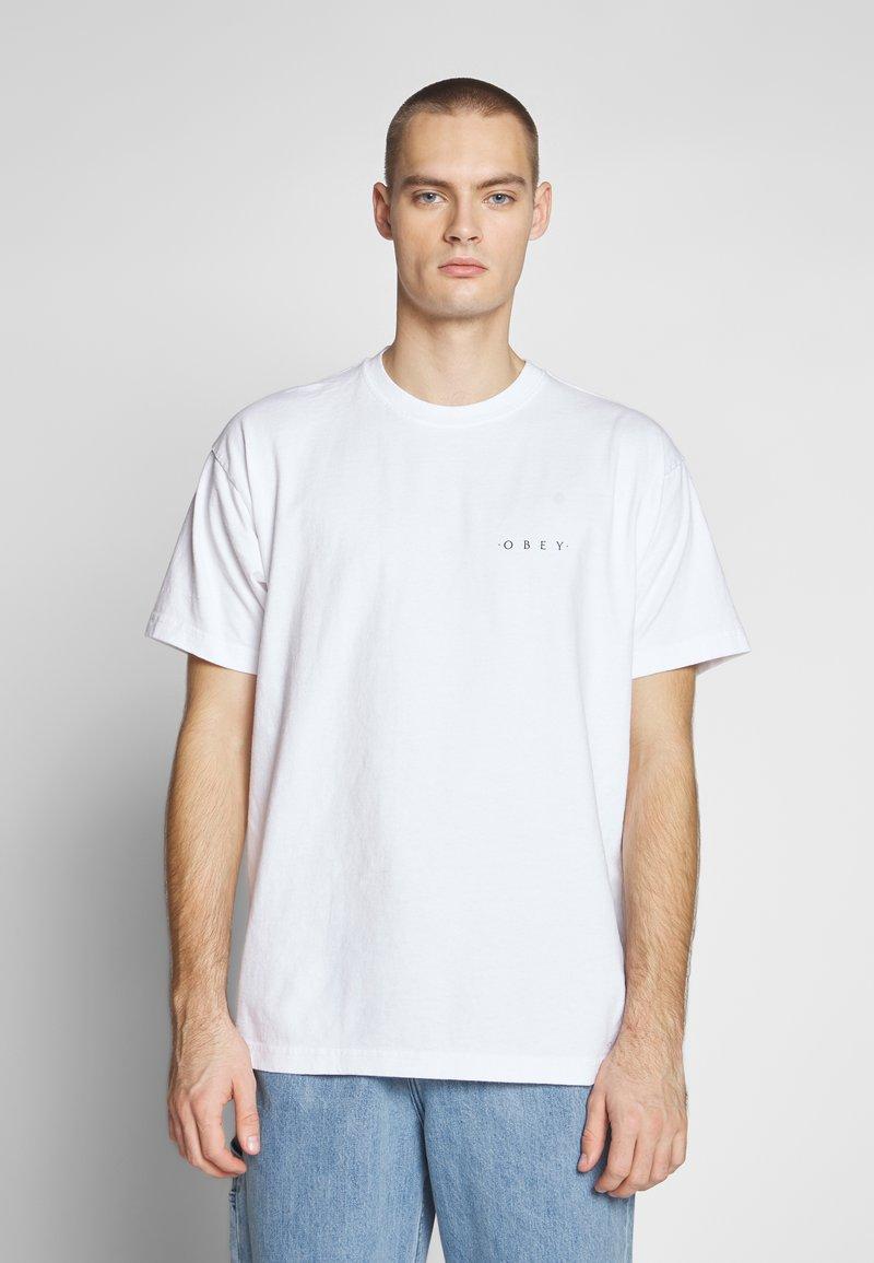 Obey Clothing - NOVEL  - T-shirts - white