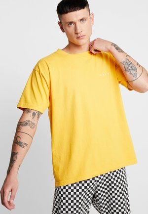 NOVEL  - T-shirt - bas - lemon