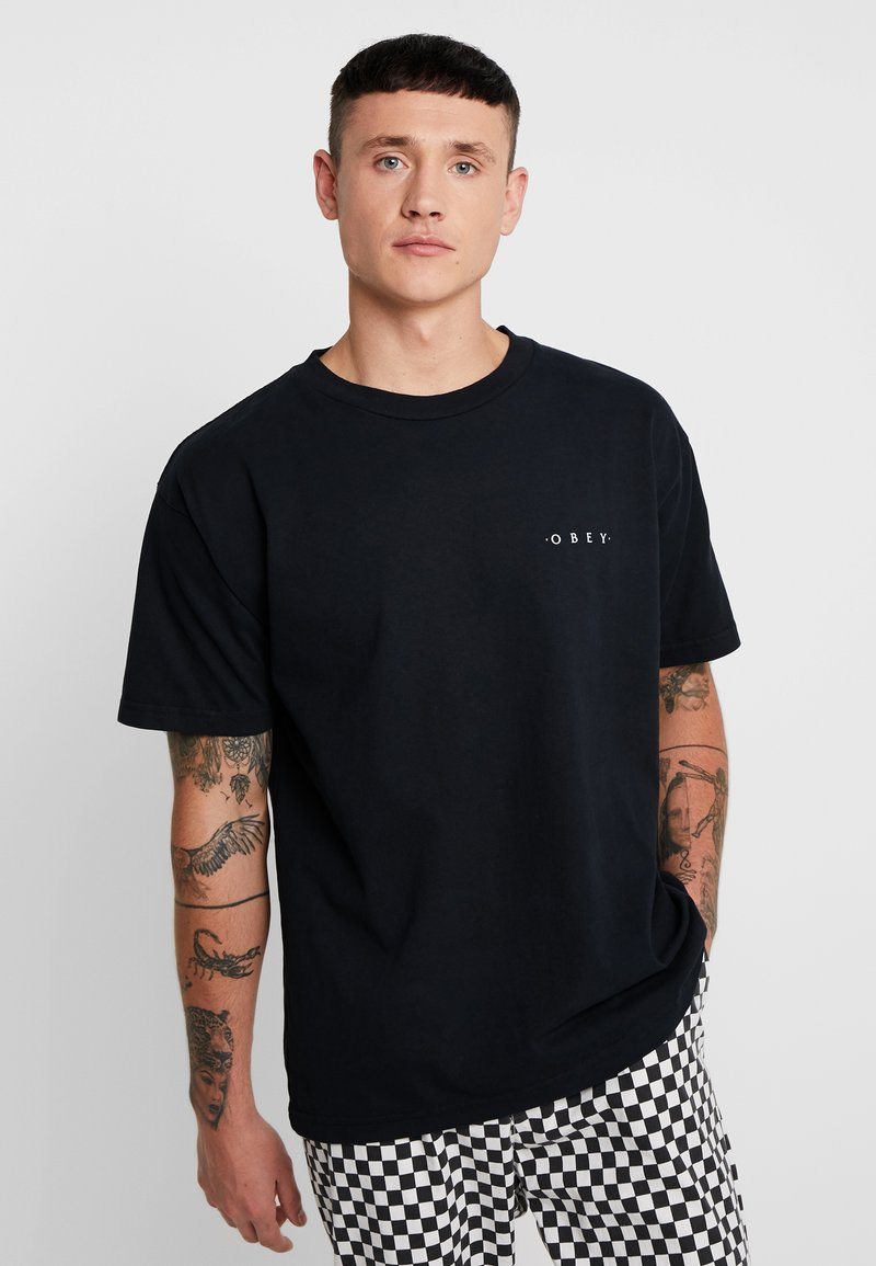 Obey Clothing - NOVEL  - T-shirt basic - off black