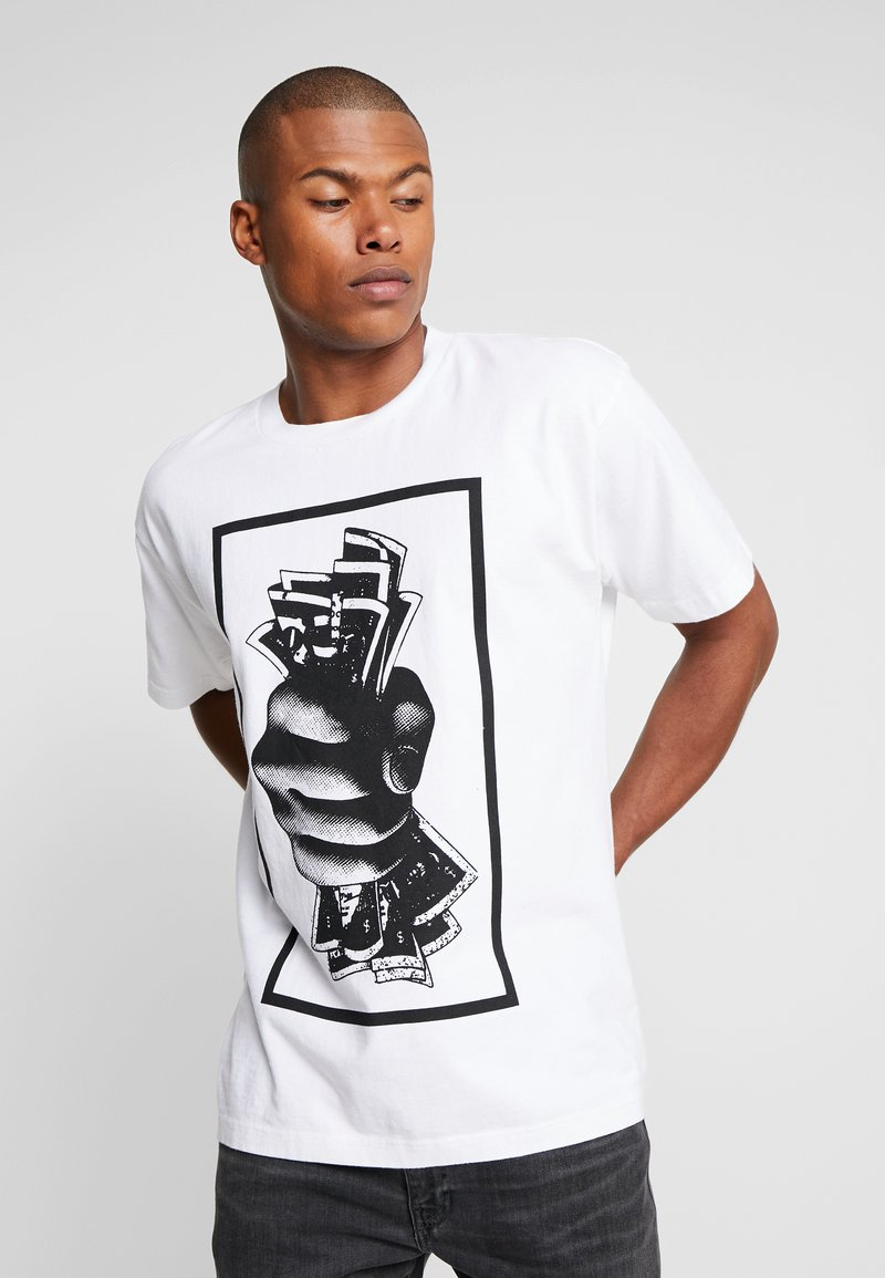 Obey Clothing - Print T-shirt - white
