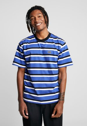 JEFF CLASSIC TEE - T-shirt med print - blue multi