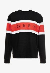 Obey Clothing - EMBRACE CLASSIC TEE - Maglietta a manica lunga - black multi - 3