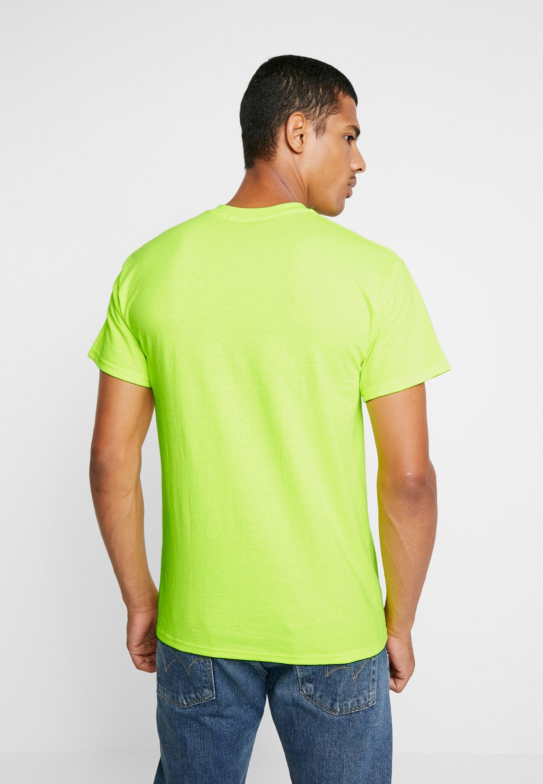 Clothing Obey Saftey JumbledT Basique shirt Green Nwn0v8Om