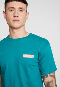 Obey Clothing - DEPOT - Print T-shirt - teal - 4