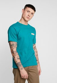 Obey Clothing - DEPOT - Print T-shirt - teal - 2