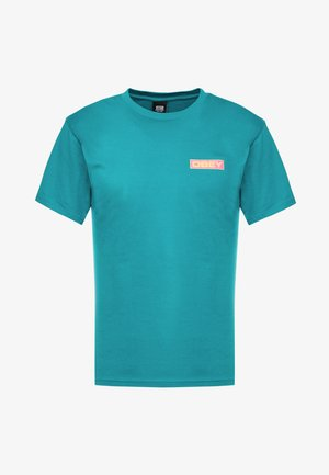DEPOT - Camiseta estampada - teal