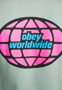 Obey Clothing - GLOBAL WORLDWIDE - Printtipaita - sage - 5