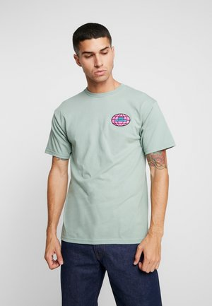 GLOBAL WORLDWIDE - T-shirt print - sage