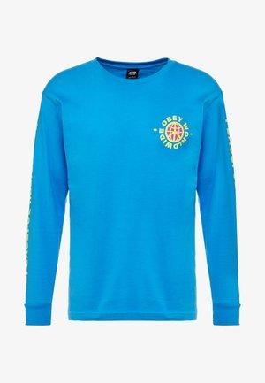 PEACEFUL RESISTANCE - T-shirt à manches longues - sky azure