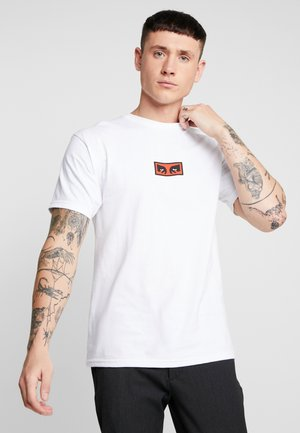EYES - T-shirt con stampa - white
