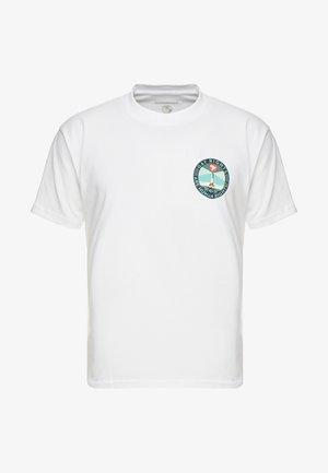 FIRE ISLAND - T-shirt print - white