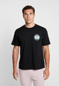 Obey Clothing - FIRE ISLAND - T-shirt med print - black - 0