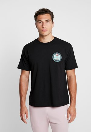 FIRE ISLAND - Print T-shirt - black