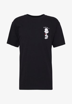 ROSE SHACKLE - T-shirt con stampa - black