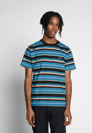 IDEALS DALE TEE - T-shirts med print - blue/multi