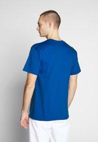Obey Clothing - SCREAMIN LIPS - Triko spotiskem - royal blue - 2