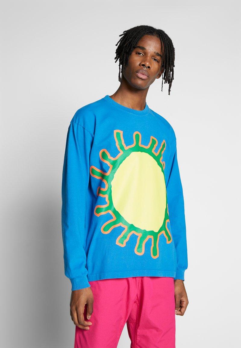 Obey Clothing - COME TOGETHER - Långärmad tröja - spirit blue