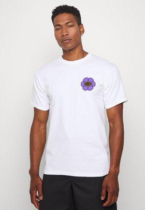 DAISY AVENUE - Print T-shirt - white