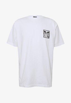 EYES ICON - T-shirt med print - white