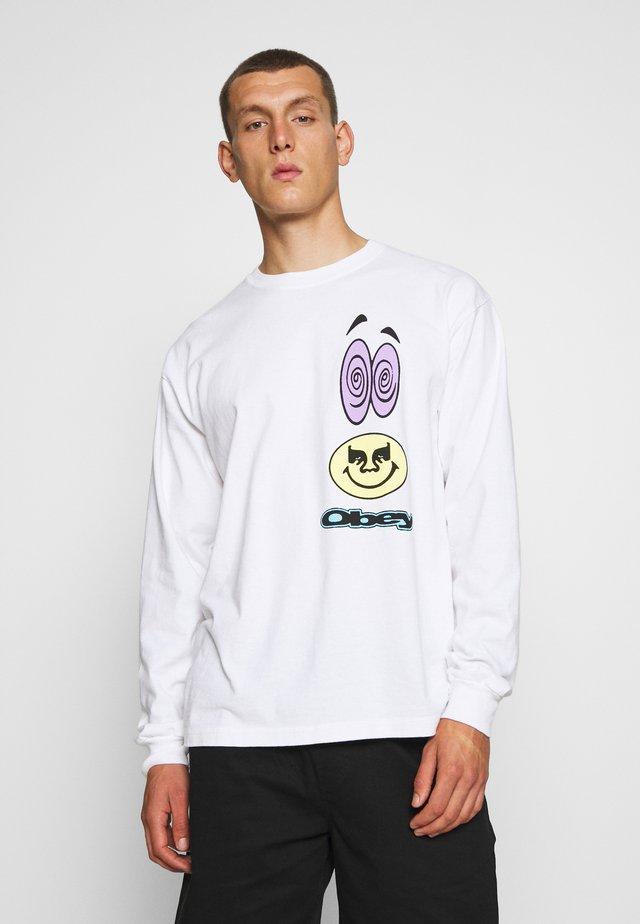 ACID CRASH - Långärmad tröja - white