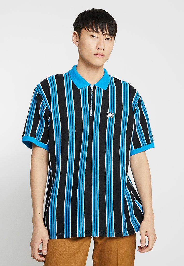 Obey Clothing - RADAR CLASSIC ZIP  - Polo - sky blue