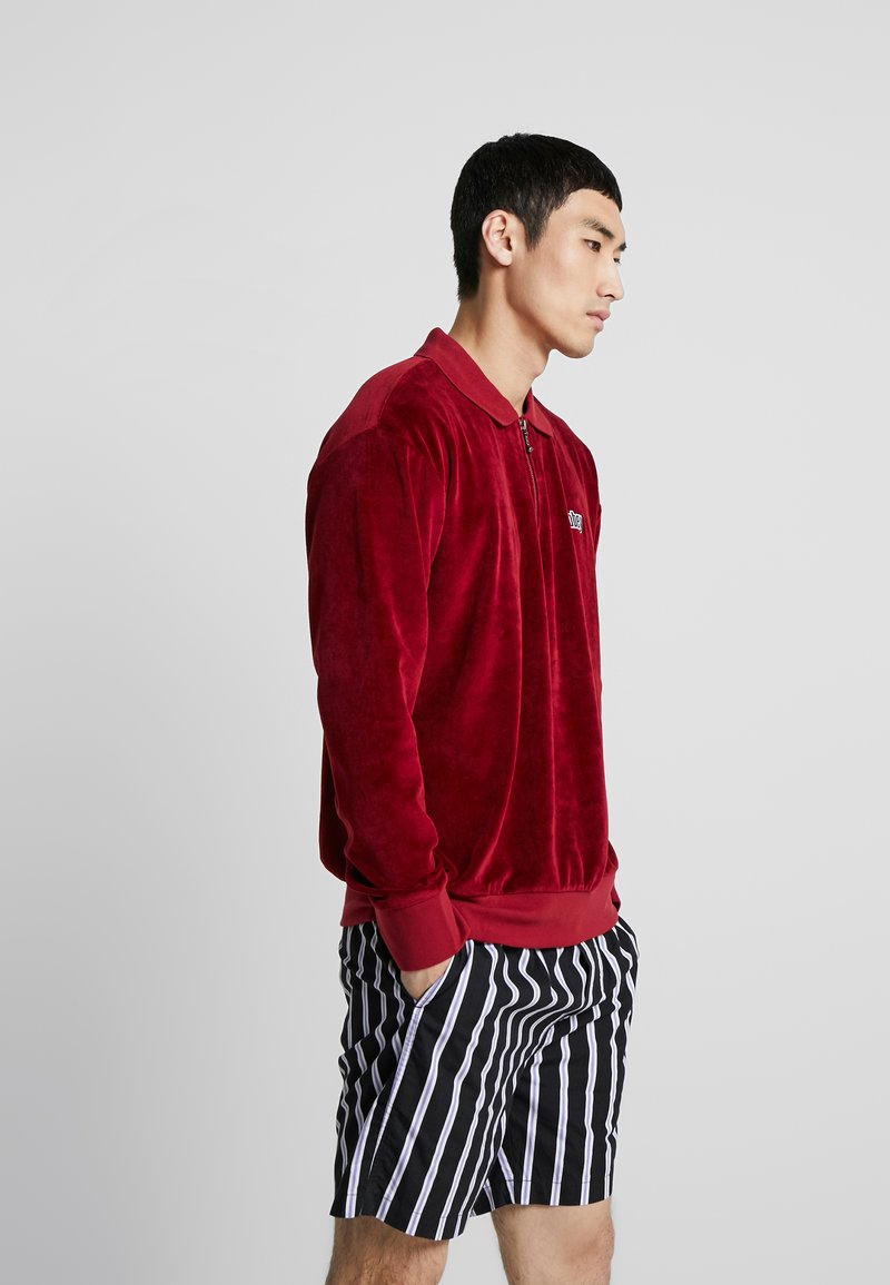 Obey Clothing - BUSTER CLASSIC POLO  - Polotričko - red