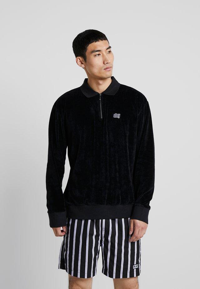 BUSTER CLASSIC POLO  - Polo shirt - black