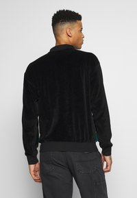 Obey Clothing - AVENUE ZIP - Poloshirt - black multi - 2