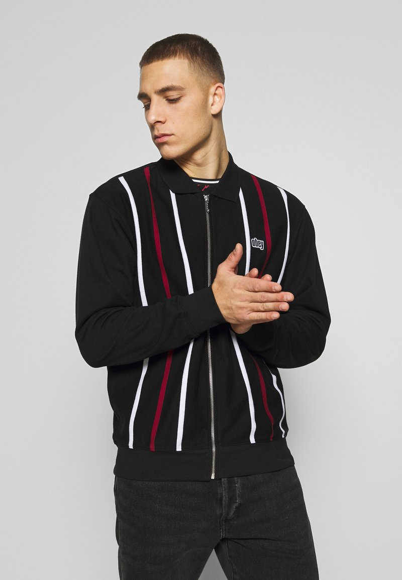 Obey Clothing - SLICK ZIP - Mikina na zip - black