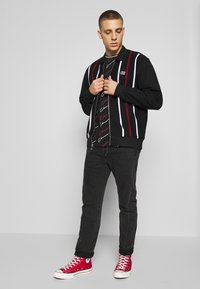 Obey Clothing - SLICK ZIP - Mikina na zip - black - 1
