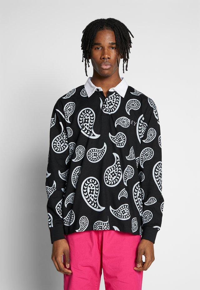 DEALER RUGBY - Koszulka polo - black