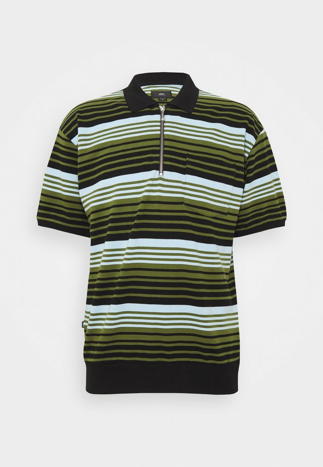 ESTATE - Poloshirt - black/multi