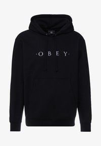 Obey Clothing - NOUVELLE HOOD - Jersey con capucha - black - 3