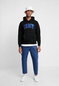 Obey Clothing - SPORTS HOOD - Hoodie - black - 1