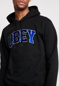 Obey Clothing - SPORTS HOOD - Hoodie - black - 4
