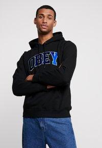 Obey Clothing - SPORTS HOOD - Hoodie - black - 0