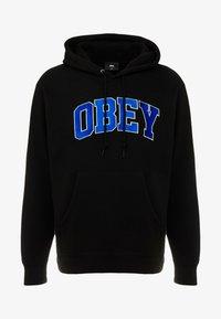Obey Clothing - SPORTS HOOD - Hoodie - black - 3