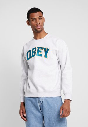 SPORTS CREW - Sweatshirt - ash grey
