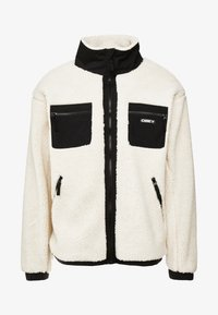 Obey Clothing - OUT THERE SHERPA JACKET - Allvädersjacka - natural - 3