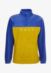 Obey Clothing - CHANNEL MOCK NECK - Bluza z polaru - gold/multi - 3