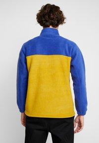 Obey Clothing - CHANNEL MOCK NECK - Bluza z polaru - gold/multi - 2
