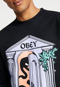 Obey Clothing - MAUSOLEUM - Felpa - black - 5